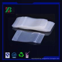 Matt PVC Zipper Plastic Bag (ZB028)