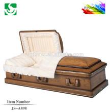 meilleurs fabricants de cercueil de Chine prix cercueil de bois de chêne