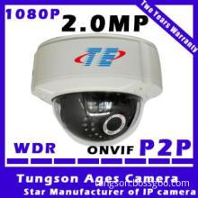 P2P wifi wireless Security Camera Dome 1080P IP camera