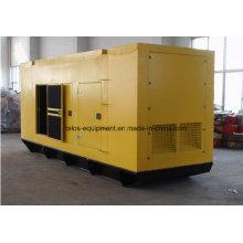 Бесшумный дизельный генератор Cummins мощностью 200 кВА (TD-200C)