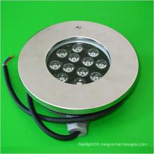 New 12W 12V Stainless Steel LED Pool Light