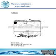 RADIATOR 52450015/52451159/52451349 pour TOYOTA 84-92 COROLLA Fabricant et vente directe!