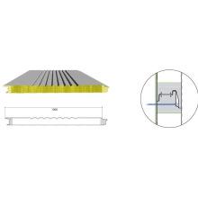 Material de construcción incombustible de alta calidad del panel sándwich