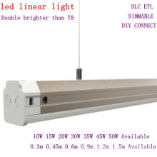 4 Foot LED Suspended Linear Fixture