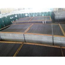 Panel de malla de alambre soldado con refuerzo de hierro reforzado
