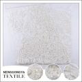 Chine OEM robe luxueuse utiliser fleur motif perle brodé tissu