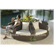 creative PE rattan garden sofa SE-178