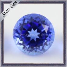 Cristal azul oscuro de Natrual Stone de la venta caliente del precio de fábrica