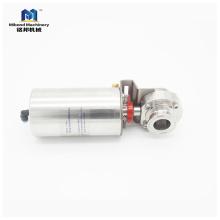Pneumatisches Absperrventil aus hochwertigem, hygienischem Edelstahl ASTM 304