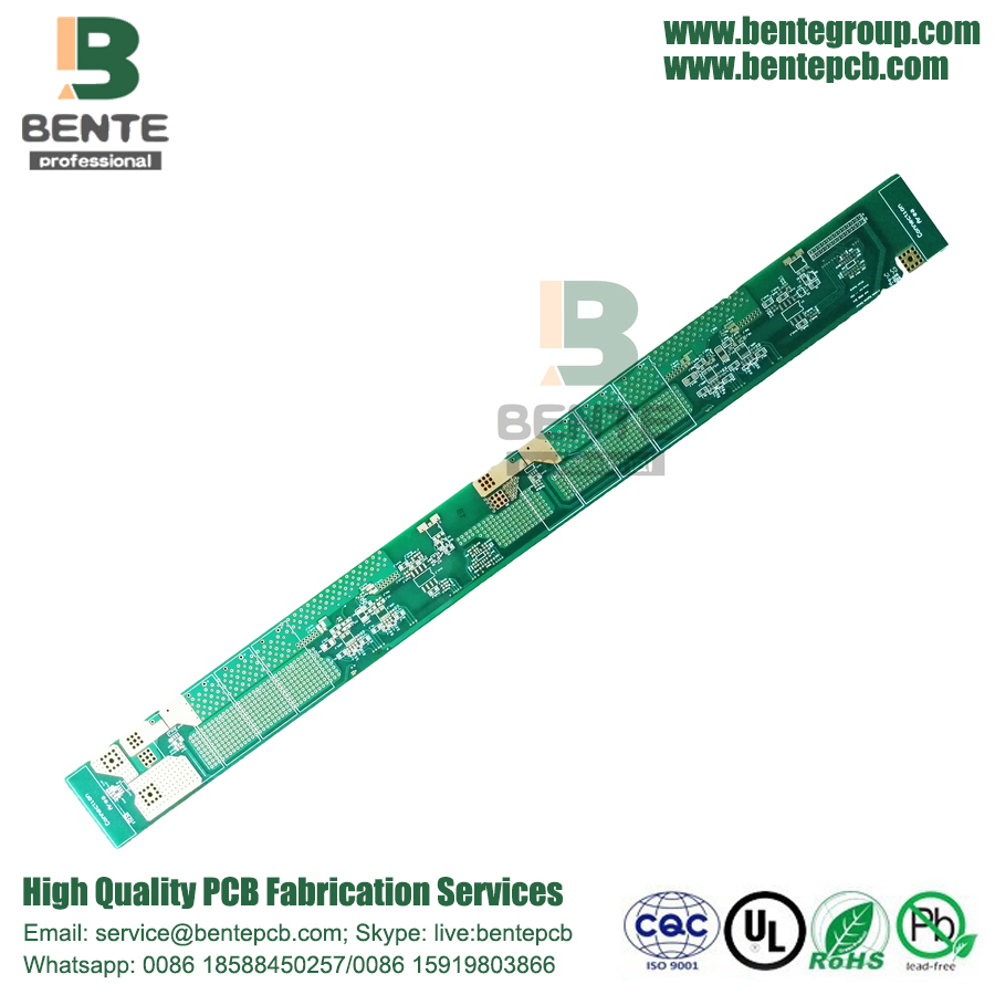 4Layers PCB FR4 TG180 Haute-TG Or épais