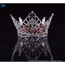 Wholesale Zhanggong crystal baby hair accessories boys full round crowns