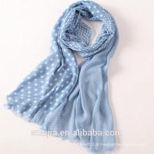 Moda lenço da voile das mulheres do outono da mola