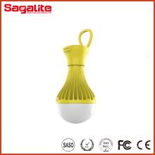 Супер яркость перезаряжаемые пластиковые кемпинга светодиодный фонарь
