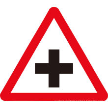 Eco - Solvent Printing Or Uv Flat Road Traffic Signs And Symbols With Reflective Sheeting