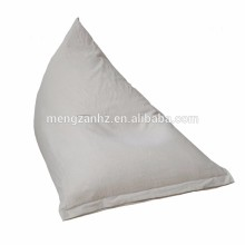 Indoor leisure triangle beanbag adult large beanbag chairs
