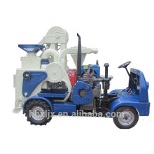 déplacement traitement diesel tracteur combiné riz moulin