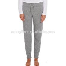 Pantalones sueltos super calientes de la cachemira de las mujeres de moda