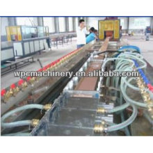 pvc wood-plastic decking flooring profile machinery