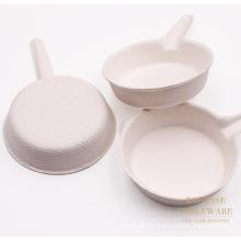 Wholesale Direct Mini Biodegradable Deep Pans Shape Plates
