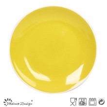Shinning Yellow Glazing Plato de cena