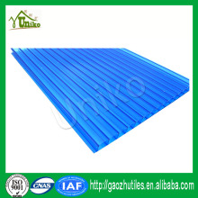 best price uv protected double wall plastic sheet polycarbonate honeycomb sheet