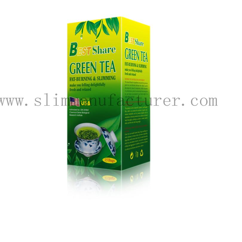 Best Share Weight loss Natural Green Tea China Manufacturer