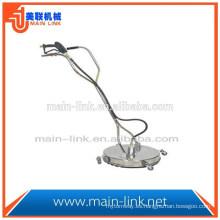 Limpiador de superficies de alta presión de acero inoxidable de 20 pulgadas