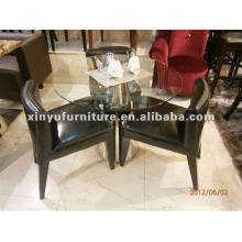 Ensemble table et chaise de restaurant occidentale XDW1003