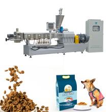 Twin Screw Extrusion Dog Cat Food Machine
