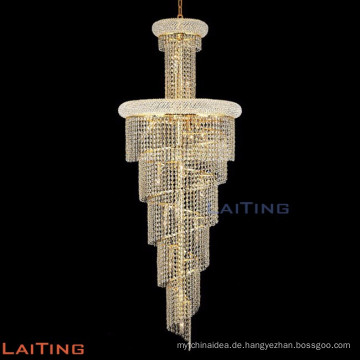 Crystal Staircase Chandeliers Modern Hanging Design Lamp LED Lighting Fixture 61004
