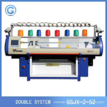 Fully Fashion Automatic Computerized Knitting 3D Mesh Shoes Upper Machine(Double system)
