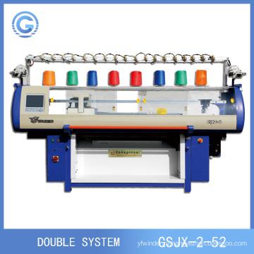 Полностью моды вязание автоматическая компьютеризированная 3D Сетка обувь верхняя Machine(Double system)