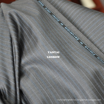 Tailor's cut length super 130's brown wool suiting fabric