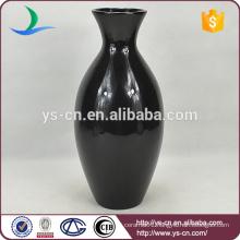 Classic Style Black Porcelain Vase Wholesale