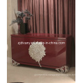 Italian Modern Wood Display Living Room Cabinet