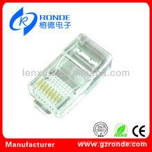 Cable de LAN de buena calidad Modular Plug
