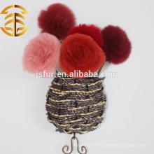 Новый Прибытие Ред Рекс Кролик Мех Цветок Чистка Кожаные Цветы Животных Мех Роза Цветок