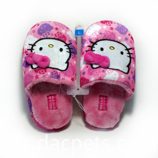 Hellokitty plush slipper