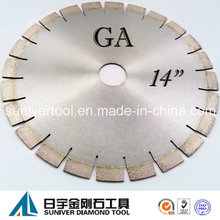 "Ga 14"" Hot Sale Blade/ High Quality Diamond Blade/ Finely Processed Diamond Saw Blade"