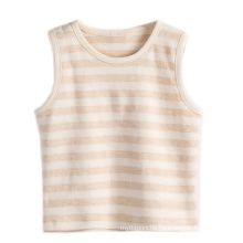 Nature Cotton Striped Baby Summer Vest