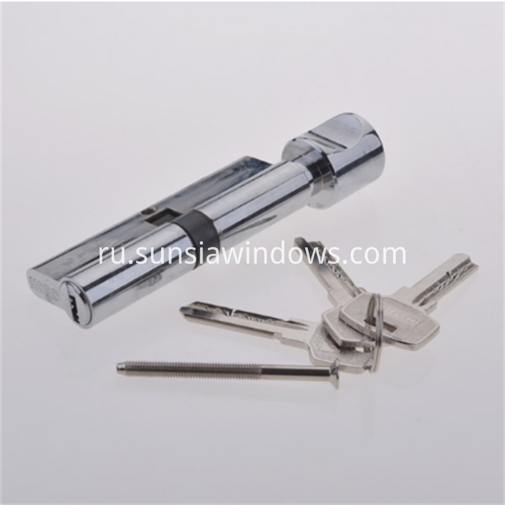 High Qulity European Profile Best Safty brass cylinder lock,anti-snap Brass Cylinder Lock,Cylinder Lock from HOPO