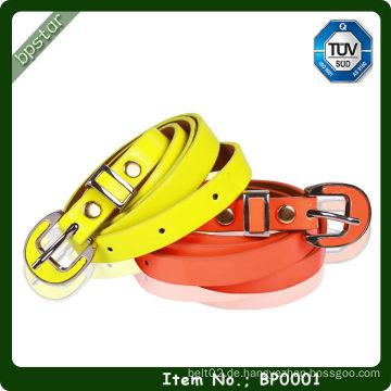 Elegantes Mode-Patent PU-Leder-Gürtel