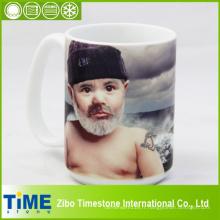 Tasse en porcelaine pour la sublimation personnelle de colorant (001)