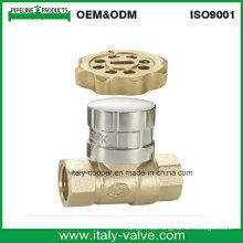 Válvula de bola magnética de cobre amarillo más vendida (AV10063)