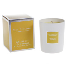 Grapefruit & Pomelo Scented Glass Candle Gift