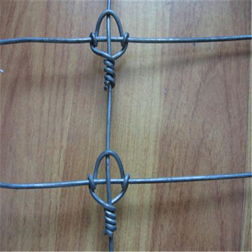 Hot Dipped Galvanized Knotted Wire Mesh Pagar
