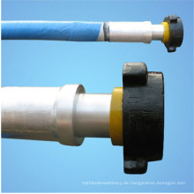 Draht-gewundene Multilayers-Gummischlamm-Ölplattform-Schläuche der niedrigen Temperatur schläfert 10000PSI ein