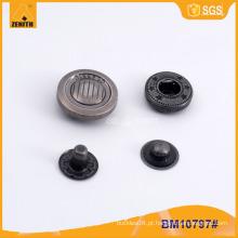 Zinc Alloy Cap Snap botões BM10797
