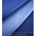 Tissu denim de bonne qualité de couleur indigo très extensible
