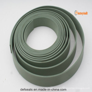 Bronze PTFE Embossed Wear Tape /Guide Strip